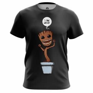 Мужская футболка Маленький Грут Стражи Галактики - m tee lillgroot 1482275365 378