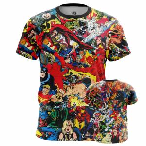 Мужская футболка Мир Комиксов Марвел Все Герои - m tee marvelworld 1482275372 398