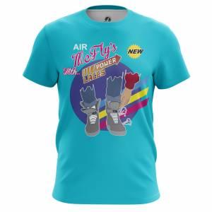 Мужская футболка Марти МакФлай Назад в Будущее Power Laces - m tee mcflyspowerlaces 1482275374 403