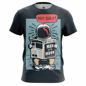Мужская футболка Юмор No shit - m tee noshit 1482275391 450