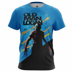 Мужская футболка Old Man Logan Люди Икс - m tee oldmanlogan 1482275396 460