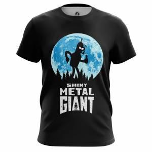 Мужская футболка Футурама Shiny Metal Giant - m tee shinymetalgiant 1482275421 539
