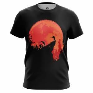 Мужская футболка Зомби The hunt - m tee thehunt 1482275446 603