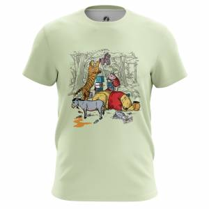 Мужская футболка Мульты The Pooh - m tee thepooh 1482275448 609