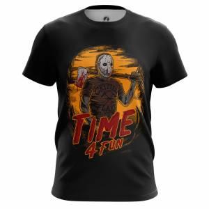 Мужская футболка Time 4 fun Пятница Тринадцатое - m tee time4fun 1482275450 617