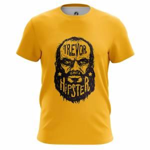 Мужская футболка GTA Trevor is not a hipster ГТА Игра - m tee trevorisnotahipster 1482275452 626