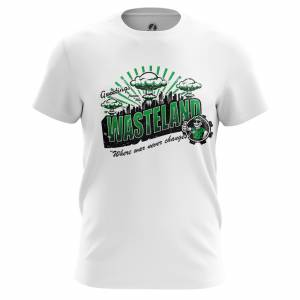 Мужская футболка Фоллаут Игра Wastelamd - m tee wastelamd 1482275464 655