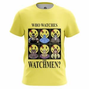 Мужская футболка Who watches the Watchmen Хранители DC Комикс - m tee whowatchesthewatchmen 1482275464 659