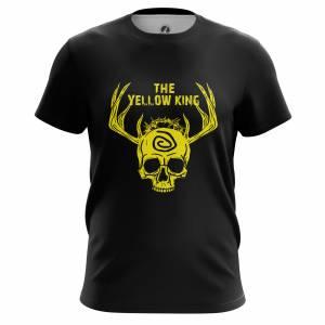 Мужская футболка Yellow king Настоящий Детектив - m tee yellowking 1482275470 676