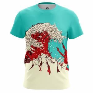 Мужская футболка Зомби Zombie Wave - m tee zombiewave 1482275471 683