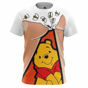Мужская футболка Поп арт Dat bees Винни Пух Дисней - m tee 1482274714 7