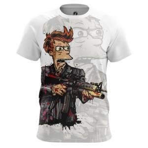 Мужская футболка Футурама Fryface - m tee 1482274715 12