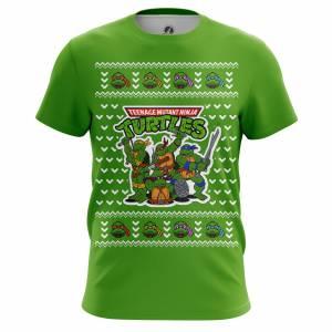 Мужская футболка Новогоднее и Рождество Черепашки Ниндзя - m tee 1482275275 139