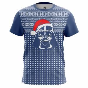 Мужская футболка Новогоднее Darth Santa Звёздные Войны - m tee 1482275288 179