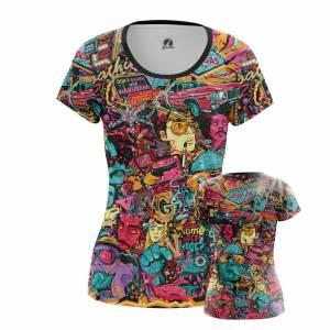 Женская футболка Fear and Loathing - pcwaevr9 1484584825