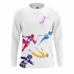Мужской лонгслив Power Rangers Могучие Рейнжеры - rj1bl2jw 1487594673