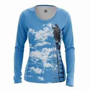 Женский Лонгслив Разное Clouds - w lon clouds 1482275279 147