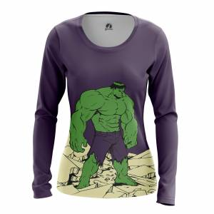 Женский Лонгслив Hulk Халк - w lon hulk 1482275339 314