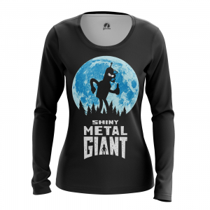 Женский Лонгслив Футурама Shiny Metal Giant - w lon shinymetalgiant 1482275421 539