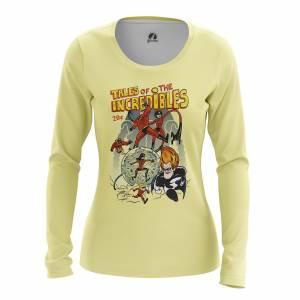 Женский Лонгслив Мульты The Incredibles - w lon theincredibles 1482275446 605