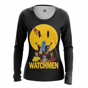 Женский Лонгслив Watchmen Хранители DC Комикс - w lon watchmen 1482275464 656