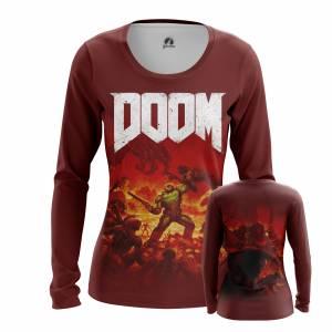 Женский Лонгслив Игры Doom Дум Игра - w lon 1482275302 209