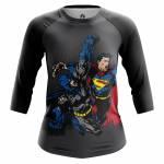 Женский Реглан Бэтмен vs Superman Супермэн DC Комикс - w rag batmanvssuperman 1482275254 76