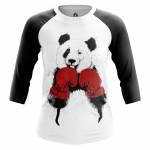 Женский Реглан Животные Медведи Boxing Panda - w rag boxingpanda 1482275264 99
