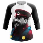 Женский Реглан Юмор Интернет Comrade Mario - w rag comrademario 1482275280 151