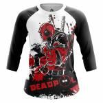 Женский Реглан Deadpool Дэдпул - w rag deadpool3 1482275293 187