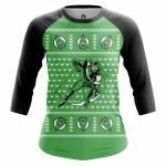 Женский Реглан Christmas Arrow Зелёная Стрела DC Комикс - w rag 1482275274 136