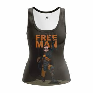 Женская Майка Игры Freeman Халф Лайв 2 Игра - w tan freeman 1482275319 252