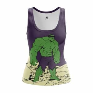 Женская Майка Hulk Халк - w tan hulk 1482275339 314