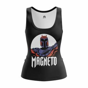 Женская Майка Magneto Люди Мутанты Икс - w tan magneto 1482275368 387