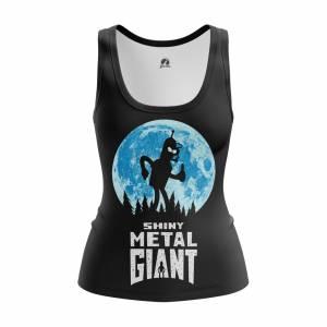 Женская Майка Футурама Shiny Metal Giant - w tan shinymetalgiant 1482275421 539