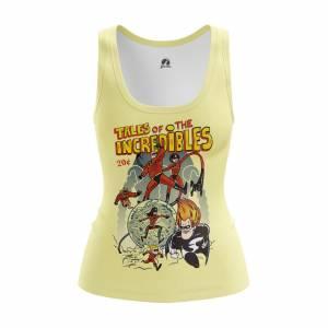 Женская Майка Мульты The Incredibles - w tan theincredibles 1482275447 605