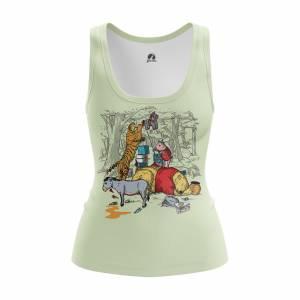 Женская Майка Мульты The Pooh - w tan thepooh 1482275448 609