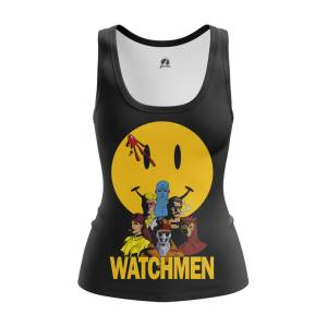 Женская Майка Watchmen Хранители DC Комикс - w tan watchmen 1482275464 656