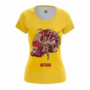Женская футболка Antman Человек-Муравей - w tee antman 1482275251 60