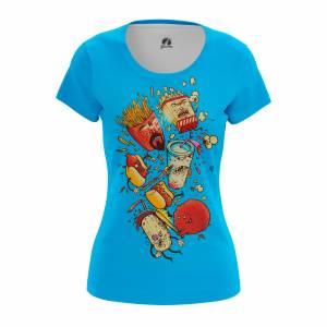 Женская футболка Мульты Aqua Teen Hunger Force - w tee aquateamhungerforce 1482275252 61