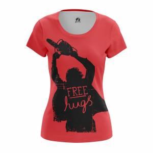 Женская футболка Chainsaw Hugs - w tee chainsawhugs 1482275270 122