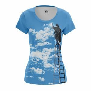 Женская футболка Разное Clouds - w tee clouds 1482275279 147