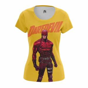 Женская футболка Daredevil Сорвиголова Нэтфликс - w tee daredevil2 1482275285 166