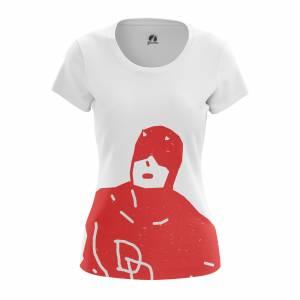 Женская футболка Daredevil Сорвиголова Нэтфликс - w tee daredevil 1482275285 165