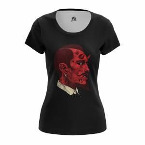 Женская футболка Разное Devil - w tee devil 1482275297 197