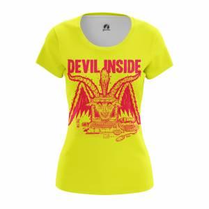 Женская футболка Разное Devil Inside - w tee devilinside 1482275298 198