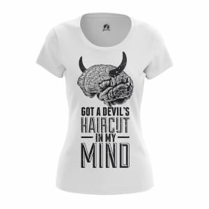 Женская футболка Разное Devils Haircut - w tee devilshaircut 1482275298 199