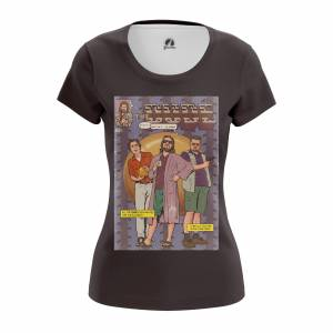 Женская футболка Dude Дюдя Большой Лебовски - w tee dude 1482275306 215