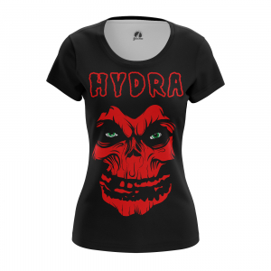 Женская футболка Hydra Хайль Гидра - w tee hydra 1482275340 318
