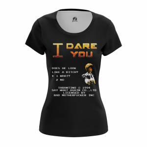Женская футболка I dare you - w tee idareyou 1482275341 322